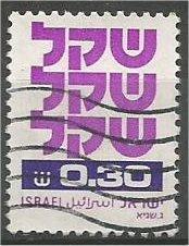 ISRAEL, 1980-81, used £0.30, Definitive, Scott 760