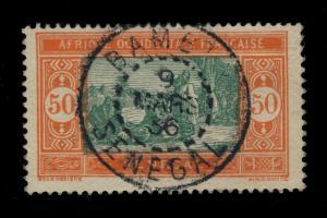 SÉNÉGAL - 1936 - CAD DOUBLE CERCLE BAMBEY/SENEGAL  SUR N°82