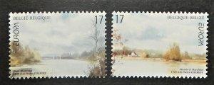 Belgium 1734-35. 1999 Europa, National Parks, NH