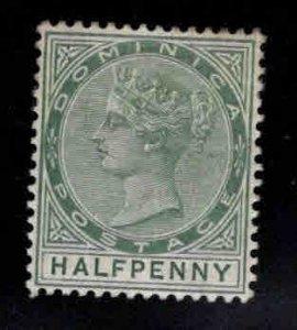 DOMINICA Scott 17 MH* Victoria  CA wmk 2 nice stamp
