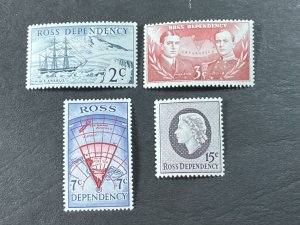 NEW ZEALAND/ROSS DEPENDENCY # L5-L8--MINT NEVER/HINGED---COMPLETE SET---1967