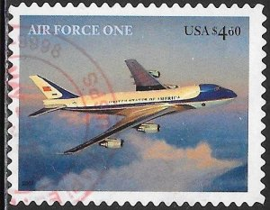 US 4144 Used - Air Force One - Priority $4.60