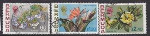 BERMUDA ^^^^^sc# 269-271  used  ( ORCHIDS FLOWERS) $ 25.25 @ lar3760berm