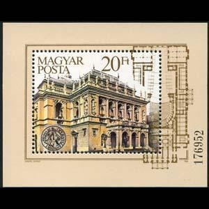 HUNGARY 1984 - Scott# 2883 S/S Opera House NH