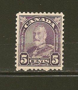 Canada 169 King George V Single MNH