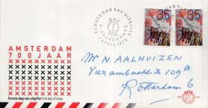 Netherlands, First Day Cover
