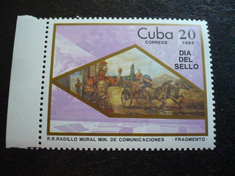 Stamps - Cuba - Scott#2787-2788 - MNH Set of 2 Stamps