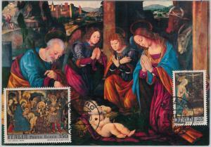57347 -  ITALY - POSTAL HISTORY: MAXIMUM CARD 1975 - ART Painting FABRIANO