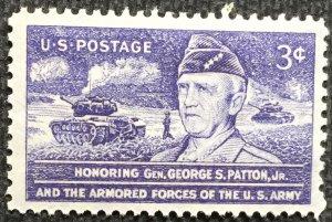 US #1026 MNH Single General Patton SCV $.25 L4