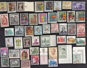 100 All Different LUXEMBOURG SEMI-POSTAL Stamps