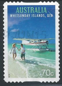 Australia #4263 70c Seaplane, Whitsunday Islands, Queensland