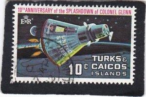 Turks & Caicos Islands,  #  247    used