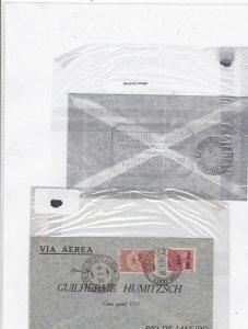 Brazil rio de janeiro airmail 1932 stamps cover Ref 9618