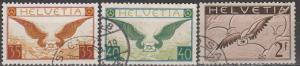 Switzerland #C13-5  VF Used CV $210.00  (S1554)
