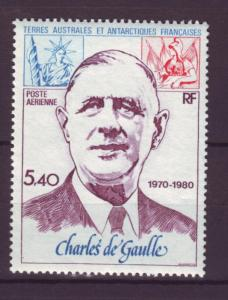 J748 jl,s stamps 1980 mnh france FSAT charles degaulle set1
