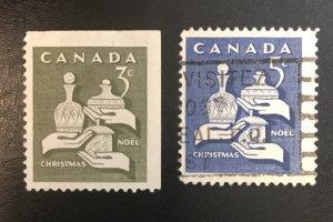 Canada # 443-444 Used