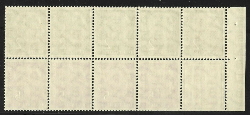 Doyle's_Stamps: MNH 1955 German Booklet Pane Scott #702a**