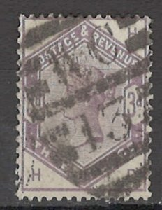 COLLECTION LOT OF # 1645 GREAT BRITAIN # 102 1884 CV= $100