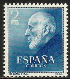 Spain 1952 Scott# 793 MNH (light toning)