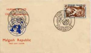 Madagascar, First Day Cover