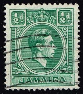 Jamaica #116 King George VI; Used (0.25)