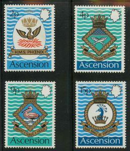 Ascension 152-155 Mint VF LH