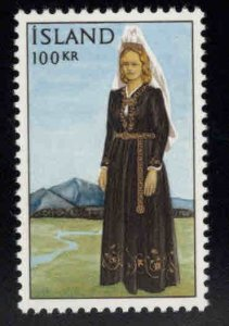 Iceland Scott 379 MNH** 1966 National costume stamp
