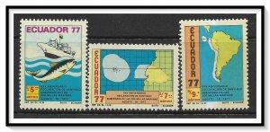 Ecuador #C648-C650 Airmail MNH