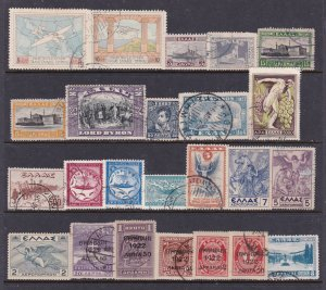 Greece a small mainly used lot of better earlies