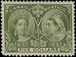 Canada Scott 65 Gibbons 140 Mint Stamp (4)