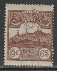 San Marino   SC  66  Mint Lightly Hinged