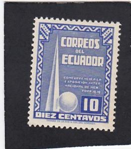 Ecuador  #  390  unused
