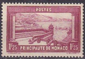 Monaco #121 F-VF Unused CV $6.75 (Z4336)