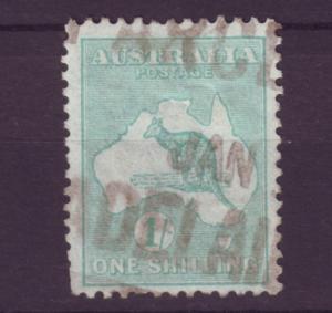 J12064 JL stamp 1915-25 australia used #51 kangaroo wmk 10