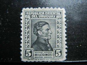 Uruguay 1928-43 5m fine used A4P41F156