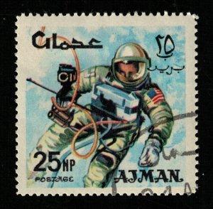 Space 1966 Airmail, Ajman 25NP (TS-563)