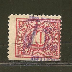 USA R234 Documentary Stamp Cancelled 1923 Used