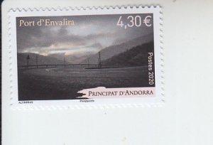 2020 Fr Andorra Port d;'Envalira  (Scott NA) MNH