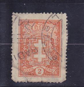 Lithuania  Scott#  278  Used