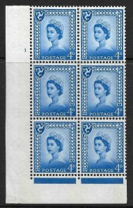 Sg XM7 4d Isle of Man 2x9.5mm Cyl 1 No Dot perf FL (I/E) UNMOUNTED MINT