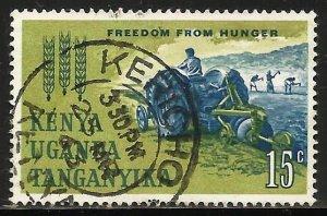 Kenya, Uganda & Tanzania 1963 Scott# 136 Used