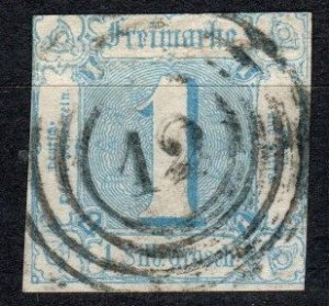 Thurn And Taxis #10 F-VF Used  CV $45.00  (X5177)