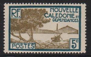 New Caledonia 139 mint hinged