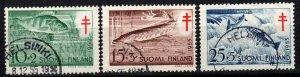Finland #B129-31 F-VF Used CV $6.30  (X605)