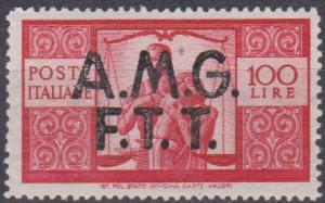 Italy- Trieste #14 Fine Unused CV $55.00 (A12585)
