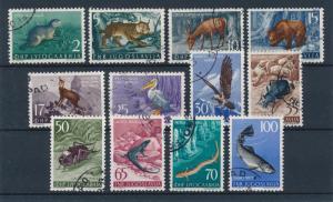 [59281] Yugoslavia 1954 Animals Bear Birds Insects Fish Used