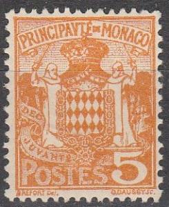 Monaco #63 F-VF Unused