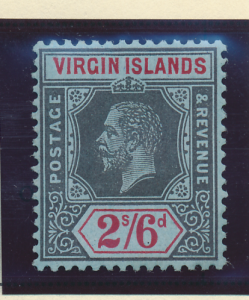 Virgin Islands Stamp Scott #45, Mint Lightly Hinged - Free U.S. Shipping, Fre...