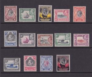 Kenya, Uganda and Tanzania KUT 1935 KGV Sc 46-59 set MH