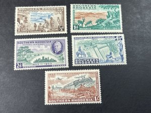 SOUTHERN RHODESIA # 74-78-MINT NEVER/HINGED---COMPLETE SET---1953